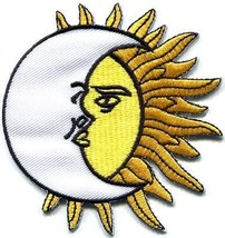 Sun & Moon celestial astronomy astrology appliq... - $2.95