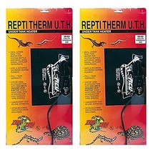 Zoo Med ReptiTherm Under Tank Heater, 30-40 Gallon (2 Pack) - $44.46
