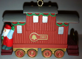 1991 Hallmark ~ Claus & Co. R. R. Caboose ~ #4 of 4 ~ Pre-Owned - $12.00