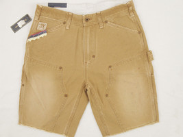 NEW $90 Polo Ralph Lauren Cutoff Carpenter Canvas Shorts!  40  *Vintage Style* - $49.99