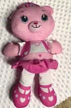 "Fisher Price Plush Pink Doodle Doll Bear 16"" tall - $7.42"