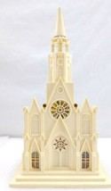Vintage Raylite Electric Corp Church Light w/ Music Box - $49.00