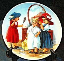 """""""High Society""""  by Jeanne Down Plate with Box ( Knowles ) AA20-CP2202 Vi... - $59.95"""