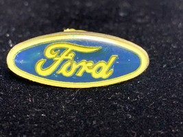 Vintage Blue, Green & Gold Ford Hat/Lapel Pin - $10.00