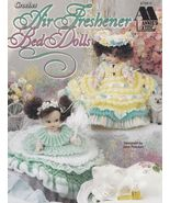 Air Freshener Bed Dolls, Annie's Crochet Doll Clothes Pattern Booklet 87... - $8.95