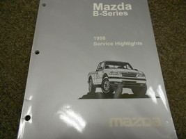 1998 Mazda B-Serie Truck Service Highlights Reparatur Shop Manuell Silber - $12.56