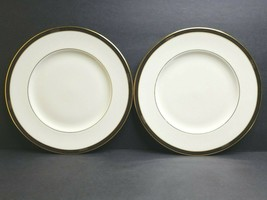 Lenox Langdon Gate 2 Dinner Plate Ambassador Collection Gold Porcelain China USA - $43.23