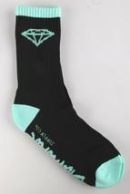 NEW 3 Pack of Diamond Supply Co Black Diamond Blue Casual Cotton Crew Socks image 2