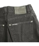 Harley Davidson Black Mid Rise Boot Cut Denim Jeans Womens 8 Reg 26x29 - $24.58