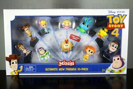 TOY STORY 4 Ultimate New Friends 10 Pack set MINIS Woody Bo Peep Tinny B... - $29.99