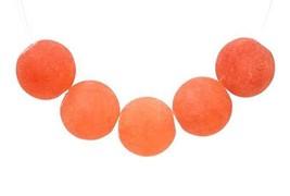 64/32 Pcs - 6MM Matte Persimmon Orange Jade Beads Grade A Round Natural ... - $9.48