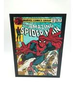 Amazing Spider-Man 186 Wooden Book Box Keepsake Hollowed Storage Marvel ... - $72.55