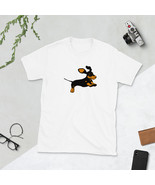 Cute Dachshund Dog Drawing Unisex T-Shirt