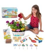 Kids Gardening Kit- Plant Kit w/Gardening Tools for Kids, 12 Paints, Pla... - $70.18