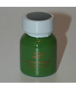 Green Liquid Makeup Body and Hair Mehron Fast Shipping Theatrical Makeup... - $5.89