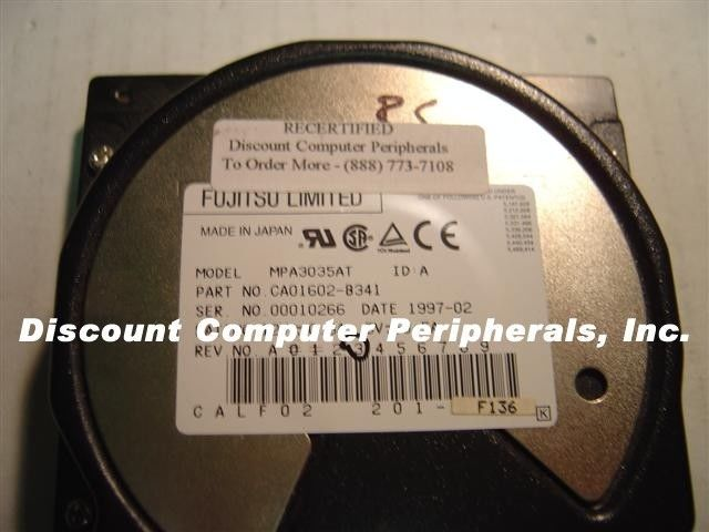"3.5GB 3.5"" IDE Drive Fujitsu MPA3035AT Tested Good Free USA Ship Our Drives Work"