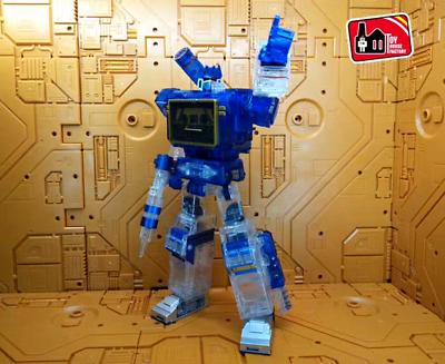 Transformers Masterpiece MP-13 Soundwave Destron Communication Crystal Figure KO