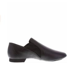 American Ballet Theatre Girls Neoprene Black Jazz Shoes Size 4 1/2 ABT Spotlight - $34.64