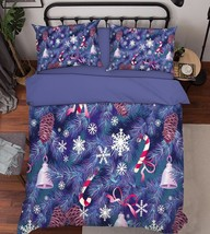 3D Xmas Tree 204 Bed Pillowcases Quilt Duvet Cover Set Single Queen King Size AU - $64.32+