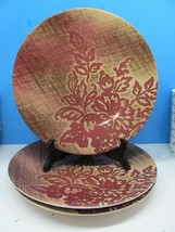 """Noble Excellence Rose Bouquet 10.75"""" Ironstone Dinner Plates Bundle of 3 - $48.02"""