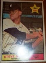 1961 Steve Boros #348 Rookie Baseball Card (Topps) - $1.98