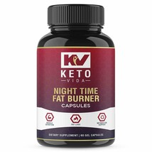 Keto Vida Night Time Fat Burners for Men and Women - Best Weight Loss Pills - $21.99