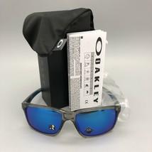 NEW Oakley Mainlink XL sunglasses Grey Prizm Sapphire Iridium 9264-42 AUTHENTIC - $113.85