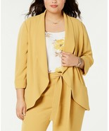 Bar III women's Trendy Plus Size Open-Front Jacket husk size 1x msrp$129.00 - $24.75