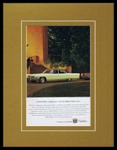 1965 Cadillac 11x14 Framed ORIGINAL Vintage Advertisement - $41.71