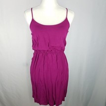 Old Navy Blouson Dress Womens Sz XS X-Small Purple Spaghetti Strap Short  - $169,37 MXN