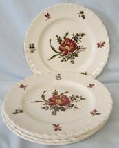 Wedgwood Robert Sprays Bread or Dessert Plate Set of 4 - $25.63