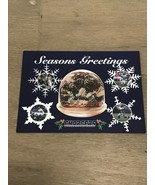 2001 San Diego CHARGERS STH Christmas Card Xmas Happy Card Seau Brees To... - $50.00