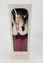 "The Broadway Collection ""I Love You""  18"" Fine Porcelain Doll - $28.02"