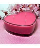Cherry Blossom PURE SOY  Heart Container Candle - $12.50