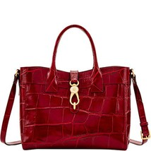 Dooney and Bourke Pembrook Large Amelie Tote Wine image 2
