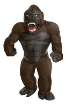 Rubies King Kong Hinchable Gigante Gorila Animal Adulto Disfraz Hallowee... - $60.81