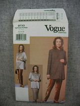Misses 12-16 Petite Maternity Jacket Top Skirt Pants Vogue 9733 UCFF - $8.00