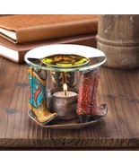 COWBOY BOOTS OIL WARMER Western Americana Style Aromatherapy Fragrance D... - $19.87