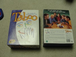 1989 TABOO The Game of Unspeakable Fun - 100% Complete! - $9.89