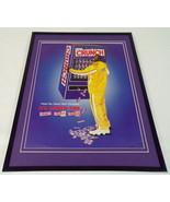 Shaquille O'Neal 2001 Nestle Crunch Framed 11x14 ORIGINAL Advertisement - $34.64