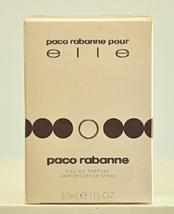 Paco Rabanne Pour Elle Eau de Parfum Edp 30ml 1.0 Fl. Oz Spray Rare Vint... - $119.00