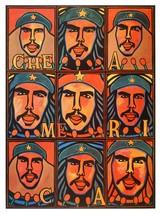 Decorative Poster.Interior wall art design.Art.Che Guevara is America.4080 - $9.90+