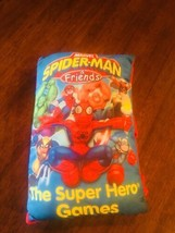 MARVEL Spider-Man and Friends Super Hero Games Storybook Pillow cloth book #126 - $9.85