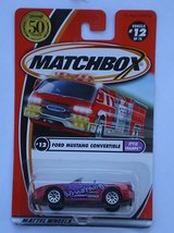 Matchbox 2002-12/75 Style Champs Ford Mustang Convertible 50 Years  - $6.00