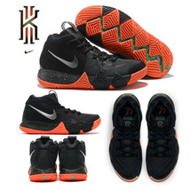 Kyrie Irving 4 Nike Basketball Shoe Black Silver Orange Men's 11 & 12 94... - $109.97