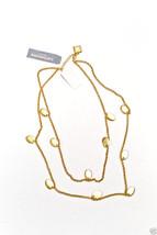 "Liz Claiborne New York Goldtone 20"" Double Stranded Necklace New MSRP $3... - $14.99"