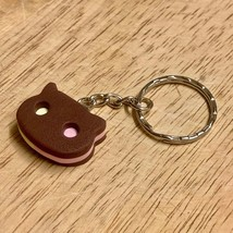 Cookie, Keychain, Cat, Keyring, Charm, Strawberry, Vanilla, Chocolate, I... - $9.50+