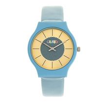 Crayo Trinity Strap Watch - Blue - £69.42 GBP