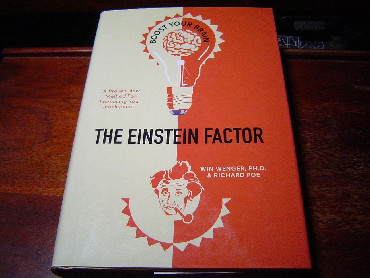 Primary image for THE EINSTEIN FACTOR Proven New Method for Increasing Your Intelligence (2004) HC