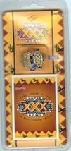 super bowl xxx pin and card set 1996 dallas vs pittsburgh arizona limite... - $9.99